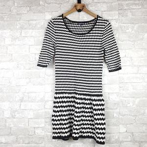 Freshman chevron sweater dress   Size L